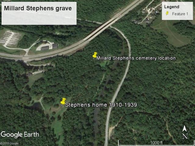 Millard Stephens Grave